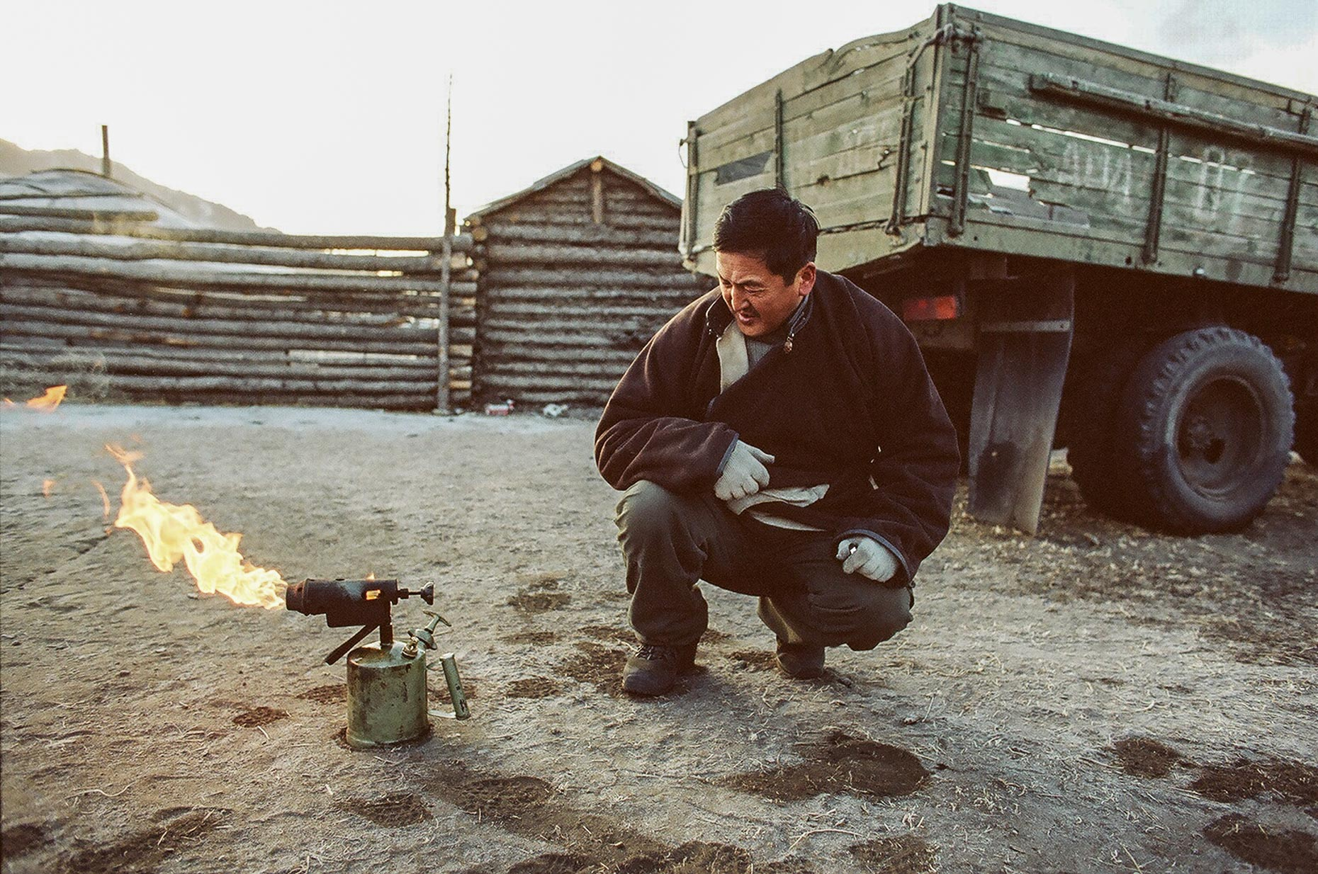 Travel photographer in Mongolia