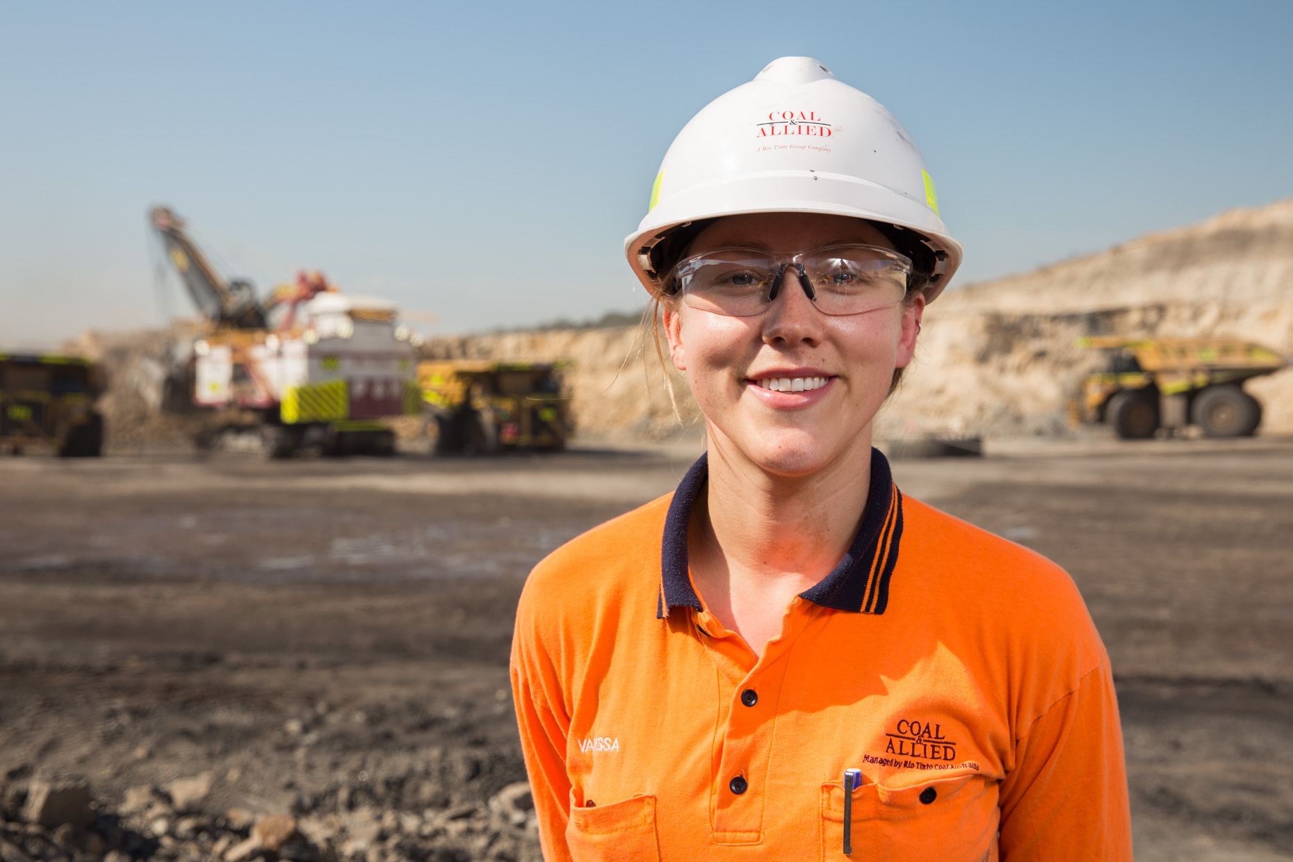 Mining photography Portrait in New South Wales | Brisbane photographer | Mark Lehn