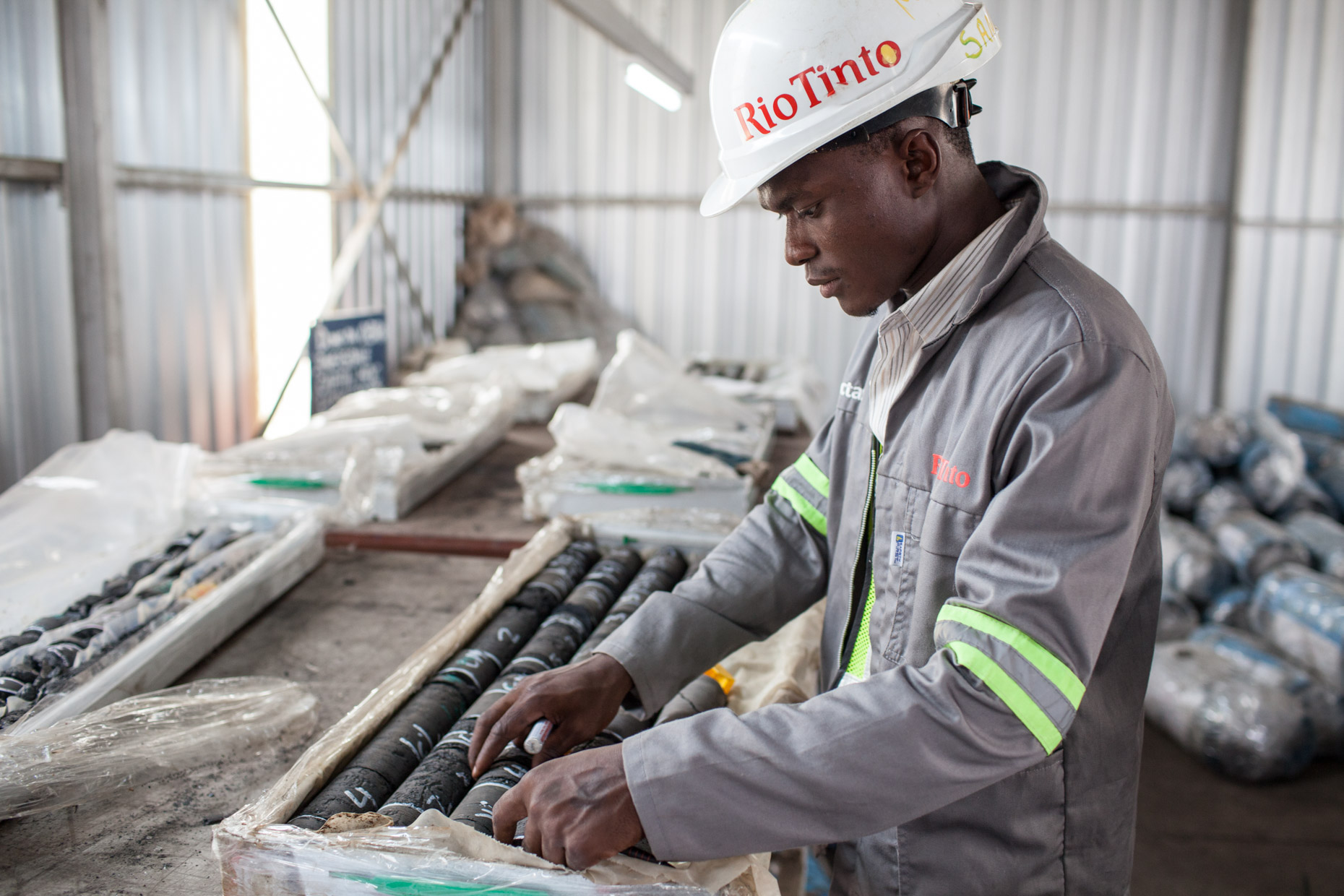 Mozambique mining photography
