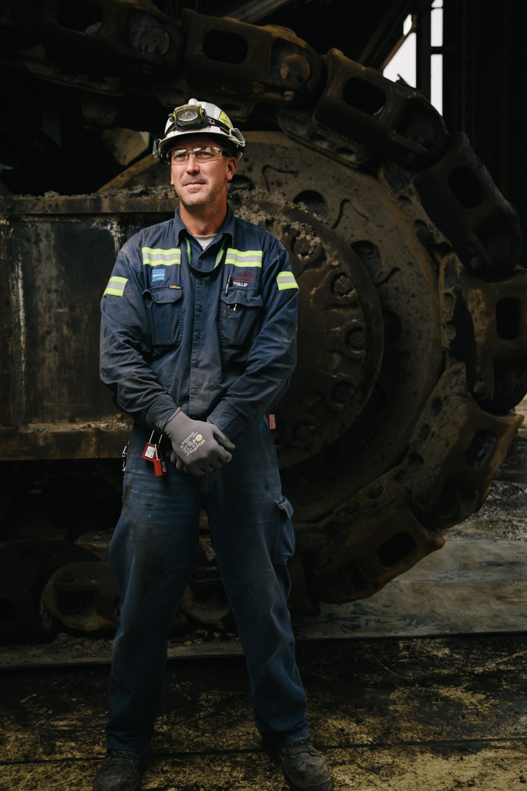 Coal mining photography - Mark Lehn