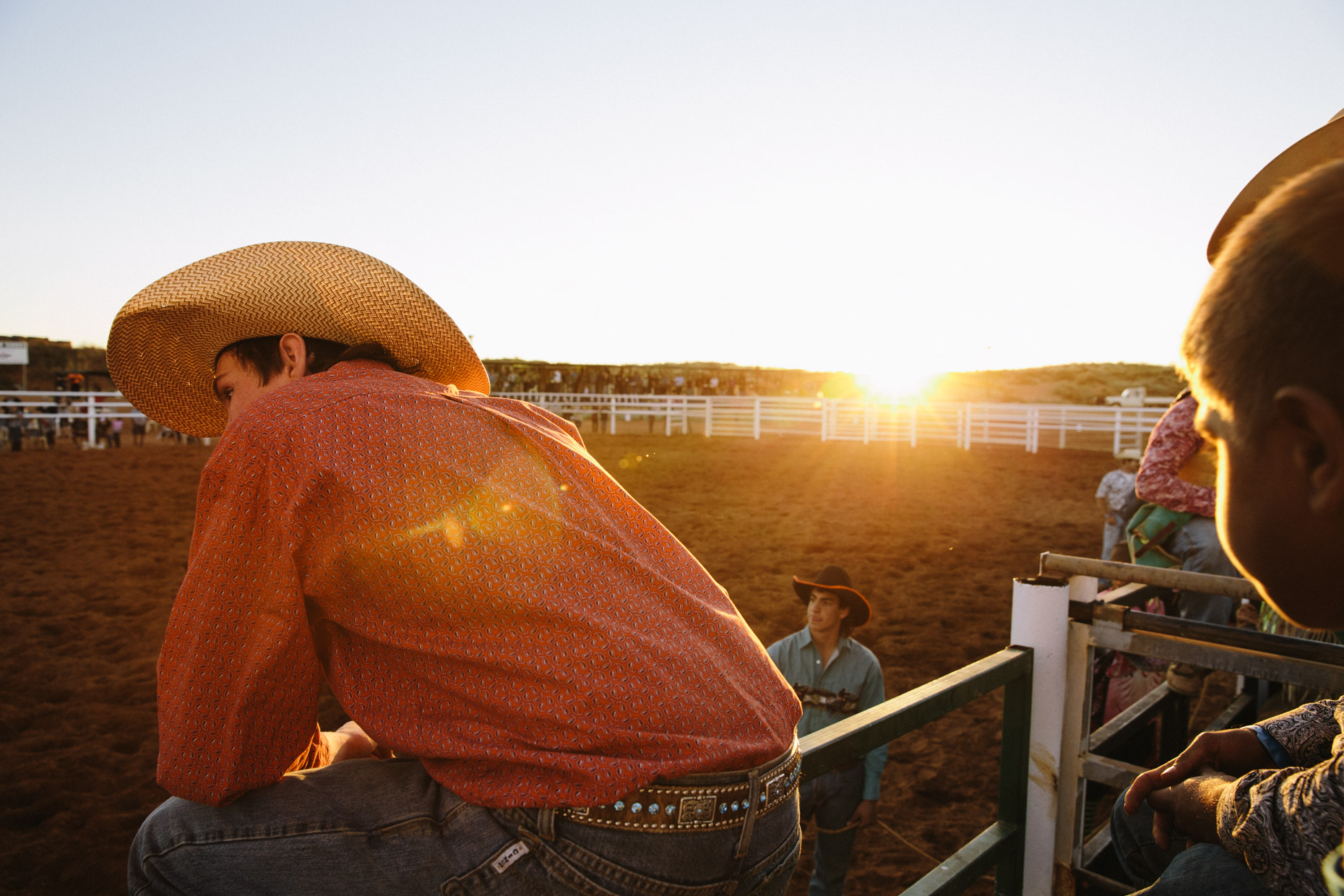 Rodeo photographer