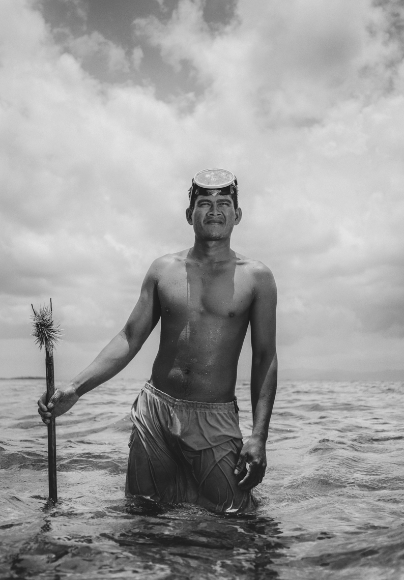 Bajau Laut Portraiture - Mark Lehn